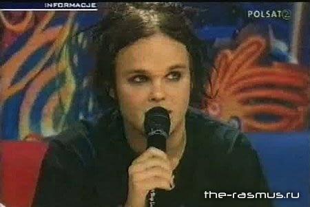 The Rasmus - TV-Bar Poland
