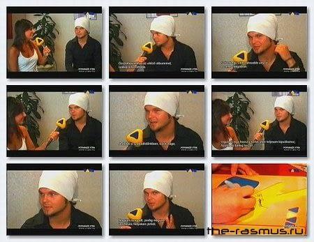 The Rasmus - Lauri Interview, Poparazzi Xtra (Viva Hungary)